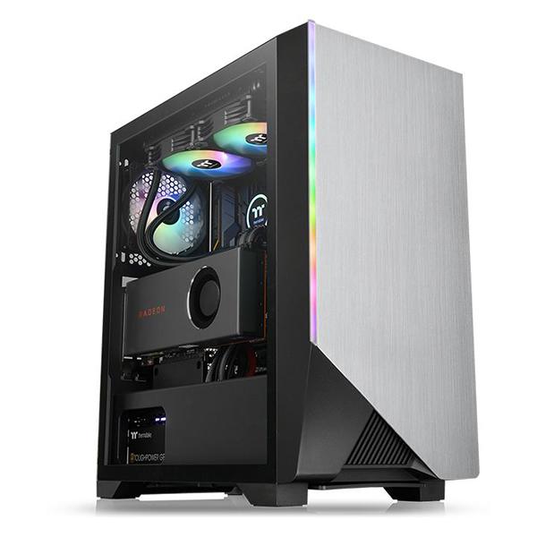 Caja PC ATX Thermaltake H550 TG RGB Negro