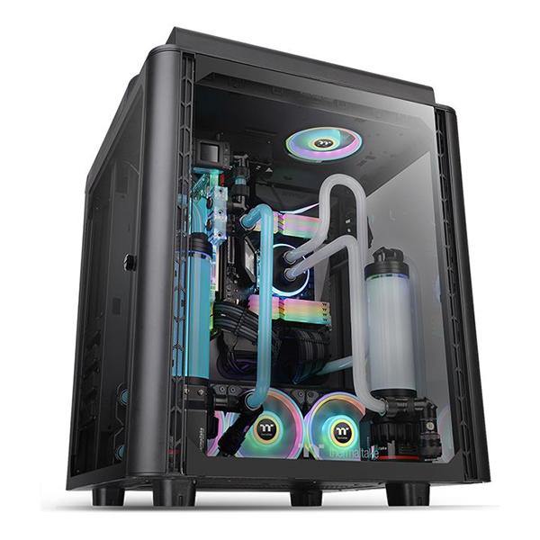 Caja Torre E-ATX Thermaltake Level 20 HT Negro