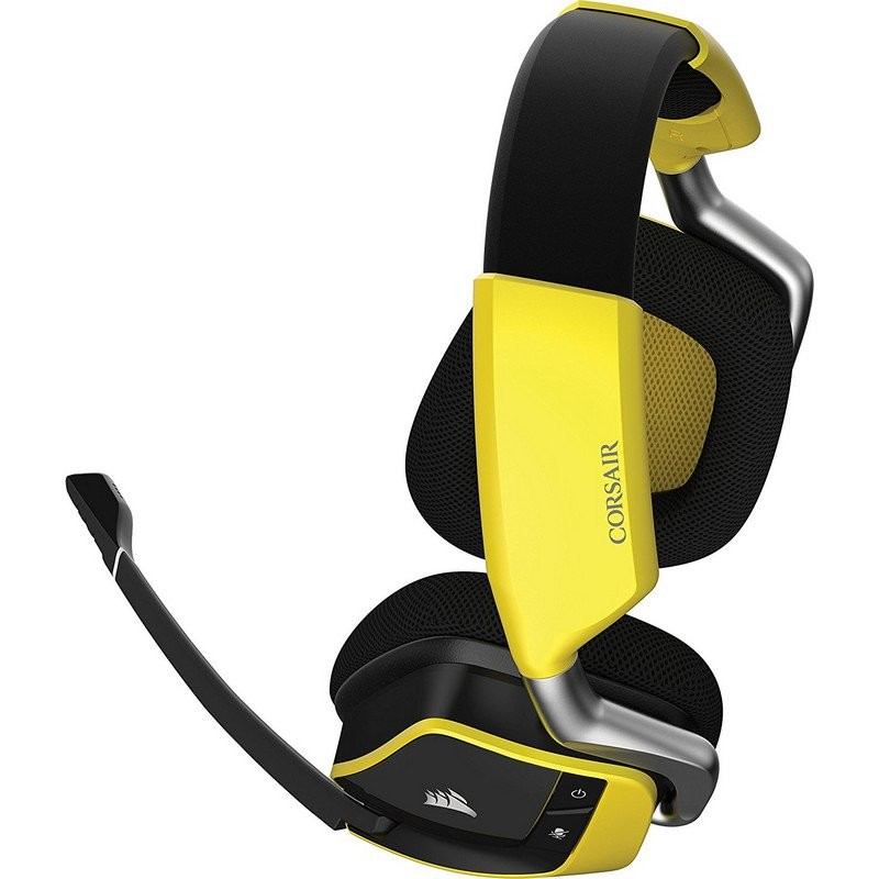 Auriculares Inalámbricos Corsair VOID PRO RGB Wireless SE Premium 7.1 Amarillo