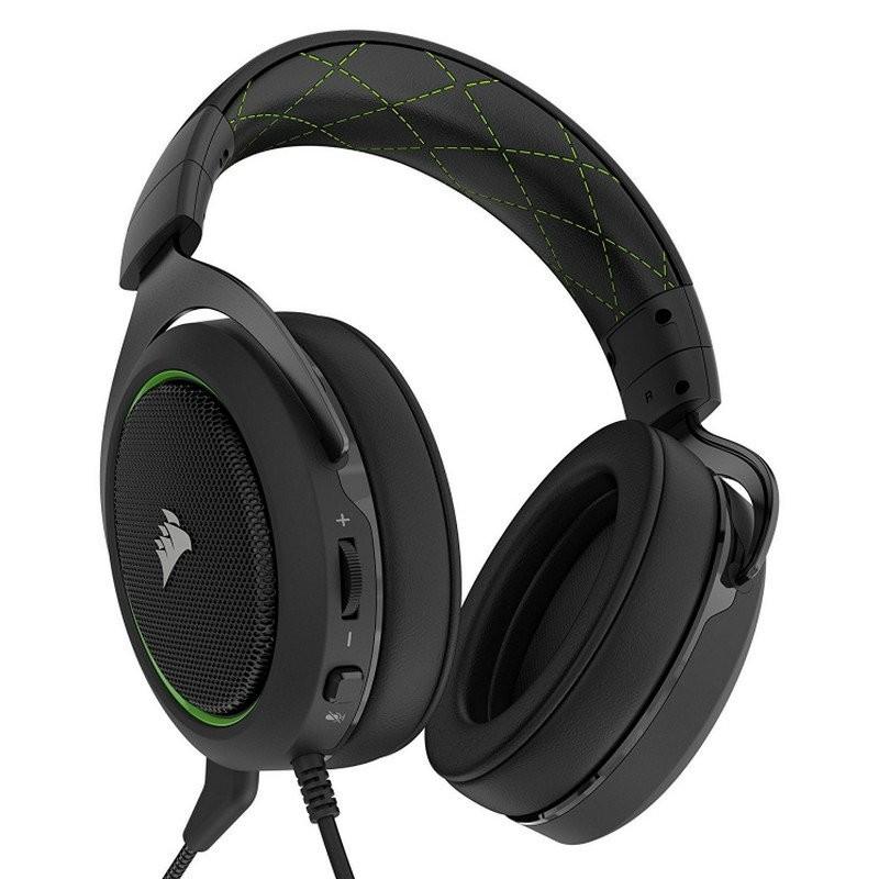 Auriculares Corsair HS50 Stereo Verde