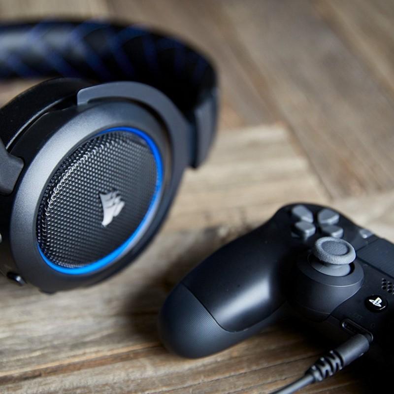 Auriculares Corsair HS50 Stereo Azul