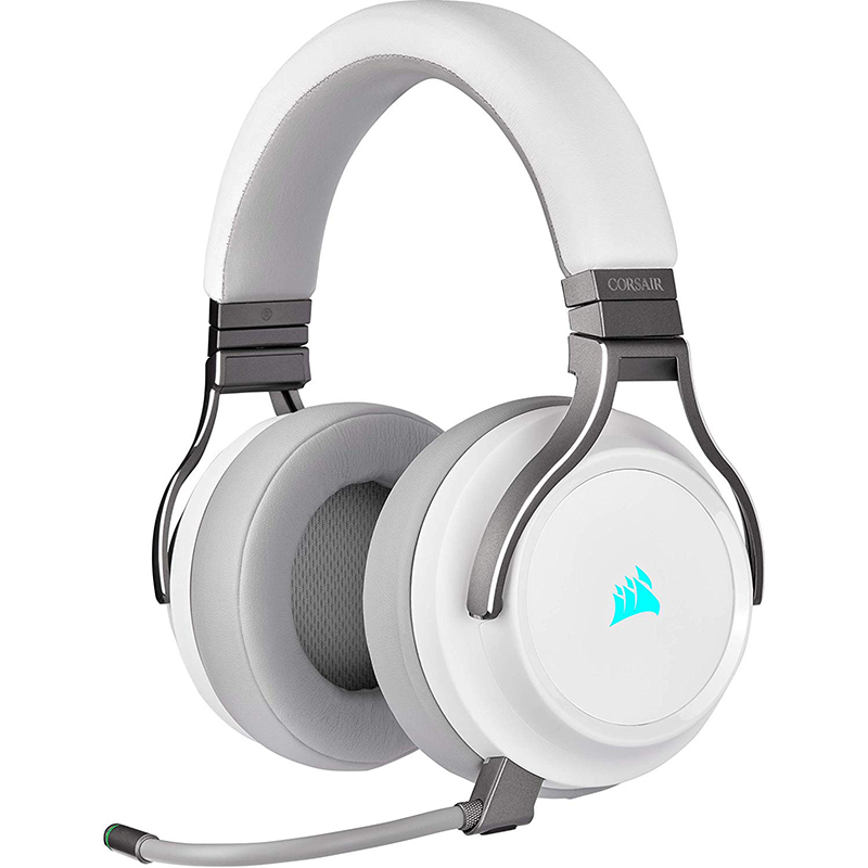 Auriculares Inalámbricos Corsair VIRTUOSO RGB WIRELESS Blanco
