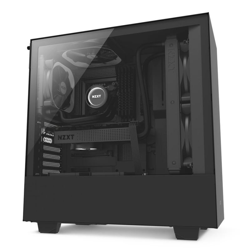Caja PC ATX NZXT H500 Negro Mate