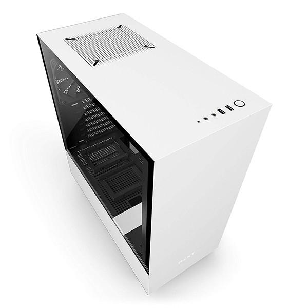 Caja PC ATX NZXT H500 Blanco Mate