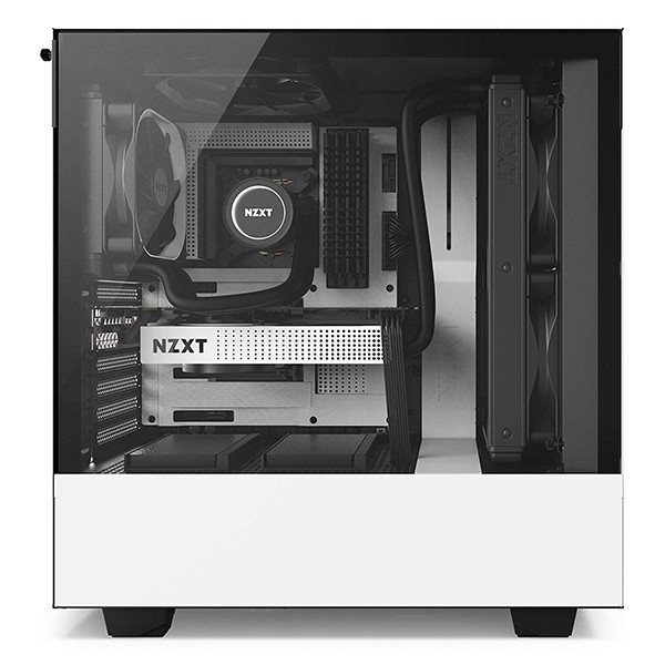 Caja PC ATX NZXT H500 Blanco Mate