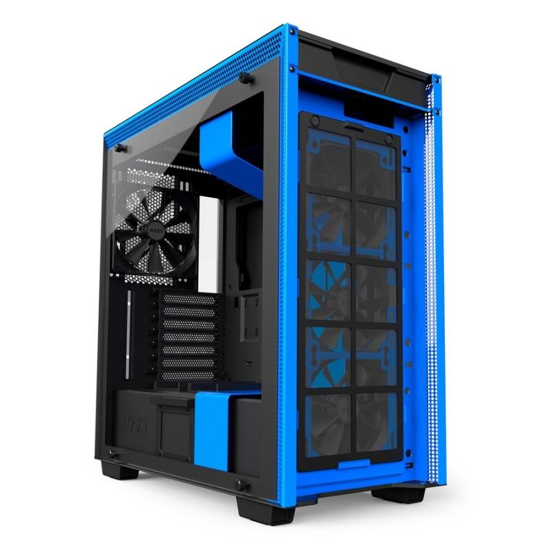 Caja PC ATX NZXT H700 Matte Black/Blue
