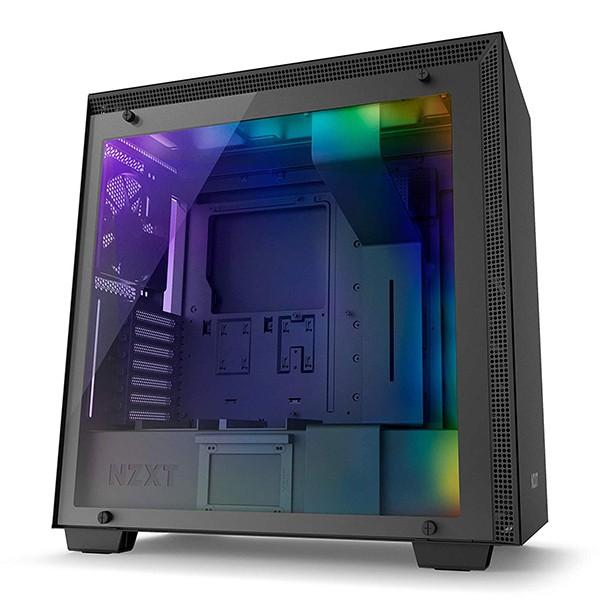 Caja PC ATX NZXT H700i Smart Negro Mate