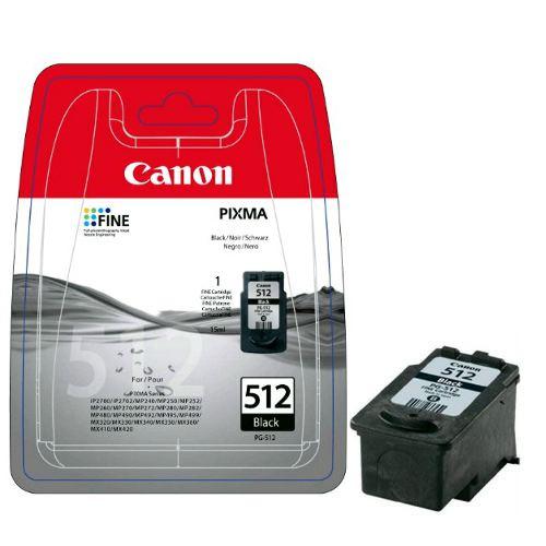Canon Cartucho de Tinta Original PG-512BK Negro