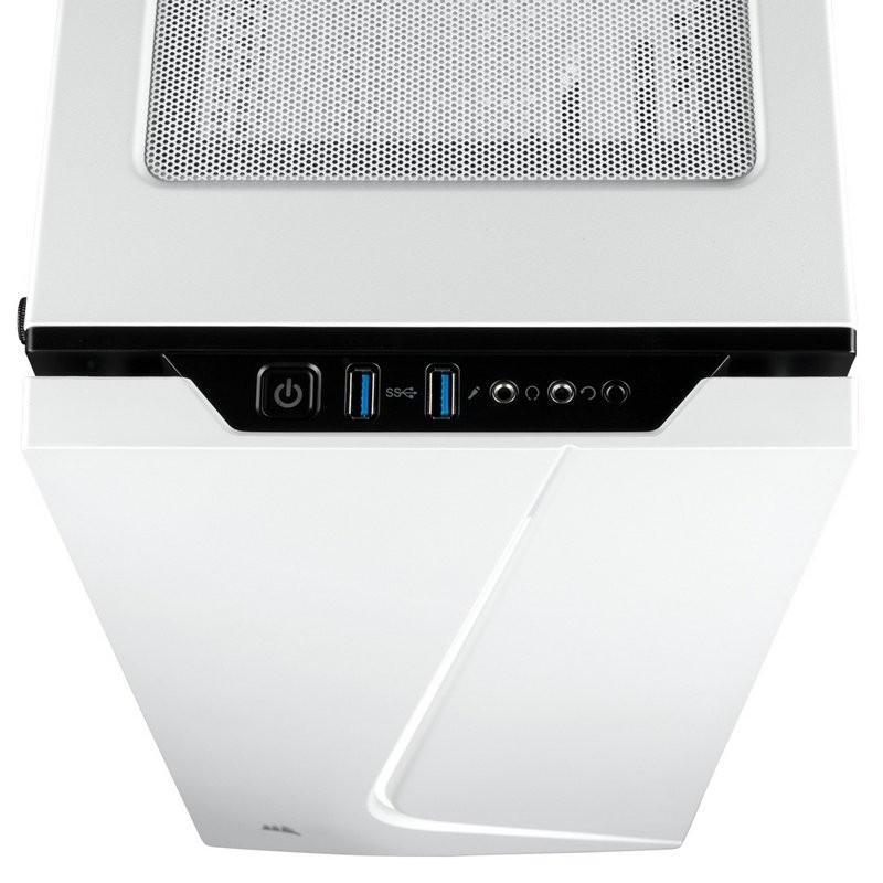 Caja PC ATX Corsair Carbide SPEC-06 Con Cristal Templado Blanca