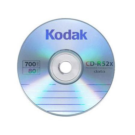 CD-R 52x 700MB Kodak Bobina 50 uds