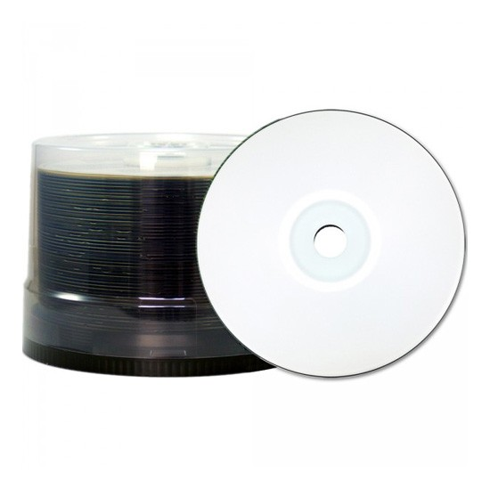CD-R 48X JVC-Taiyo Yuden FF InkJet Printable WaterPro 50uds