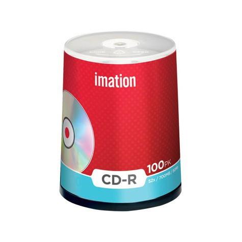 CD-R 52x 700MB Imation Tarrina 100 uds