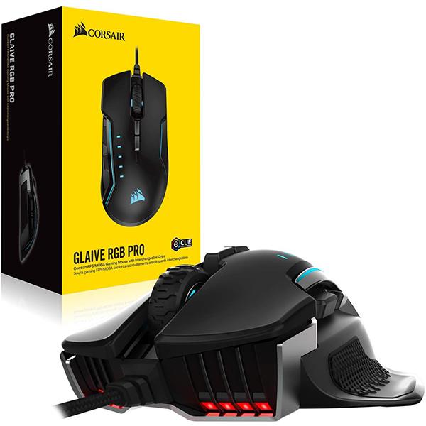 Ratón Corsair Glaive RGB Pro Aluminum 18000 DPI