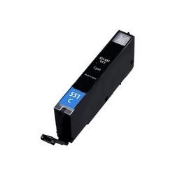 CLI-551C XL Cartucho de Tinta Compatible (Cian)