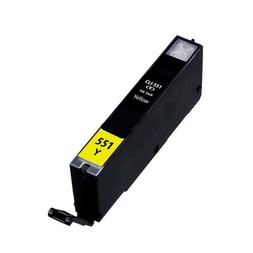 CLI-551Y XL Cartucho de Tinta Compatible (Amarillo)
