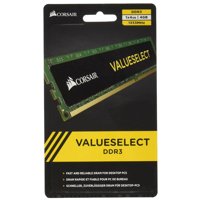 Memoria RAM Corsair CMV4GX3M1A1333C9 4GB DDR3 1333Mhz