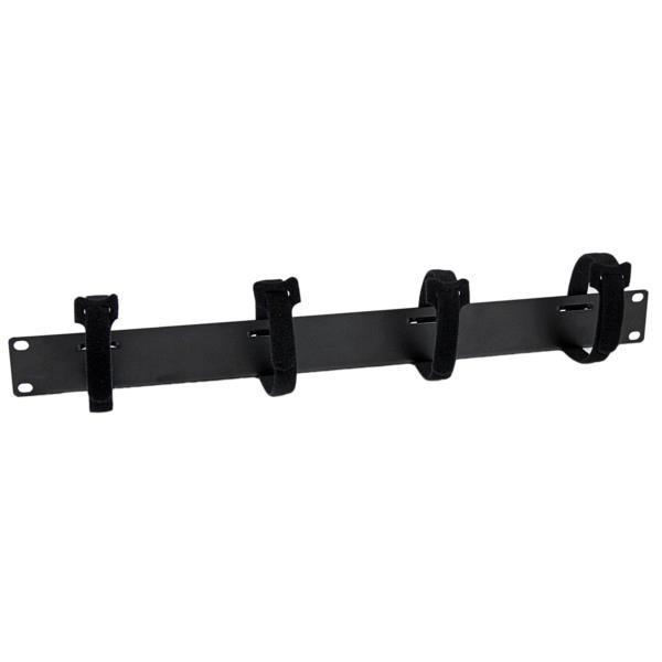 Organizador Cableado Horizontal 1U Rack 4 Tiras Brida Velcro