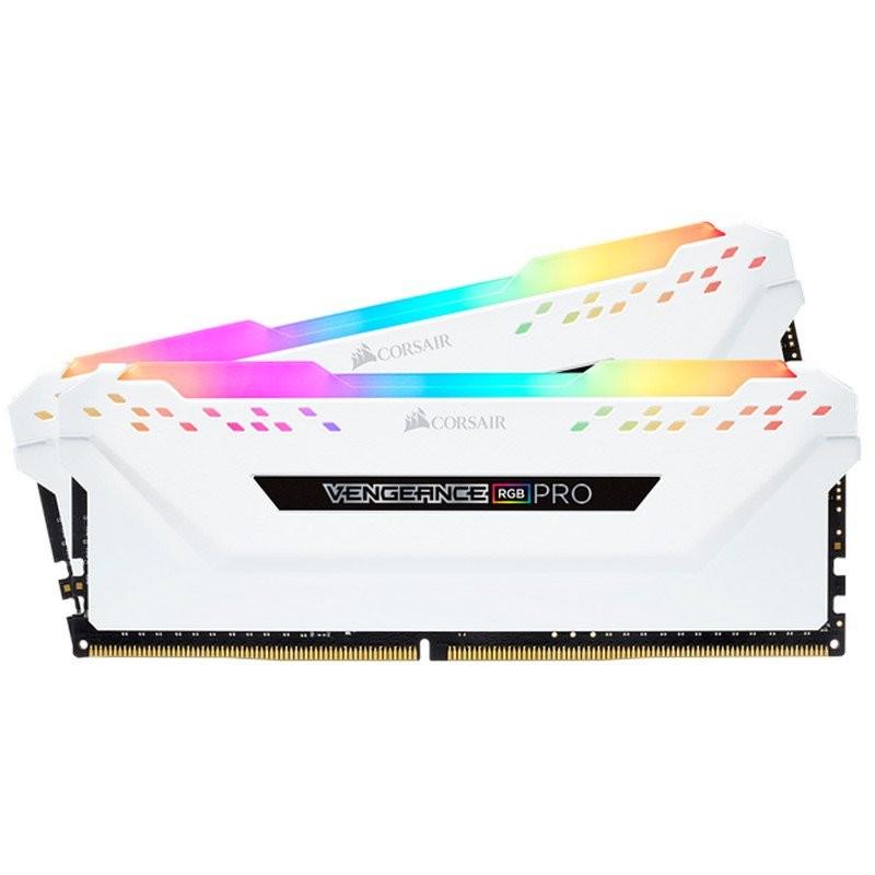 Kit Memoria Corsair Vengeance RGB Pro 16GB DDR4 3000MHz (2x8GB) CL15 White