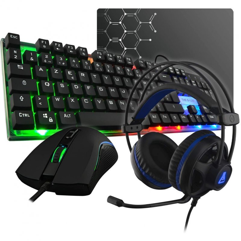 TEC+RAT+ALF+AURIC THE G-LAB GAMING COMBO GALLIUM