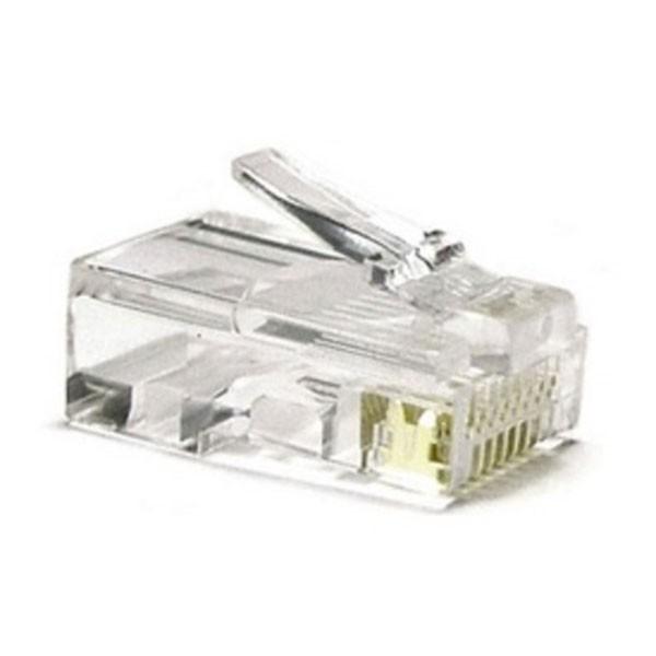 Nano Cable - Conector RJ45 CAT5 8 Hilos (10 Und)