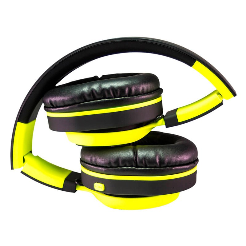 Auriculares Bluetooth CoolBox CoolHead Amarillo