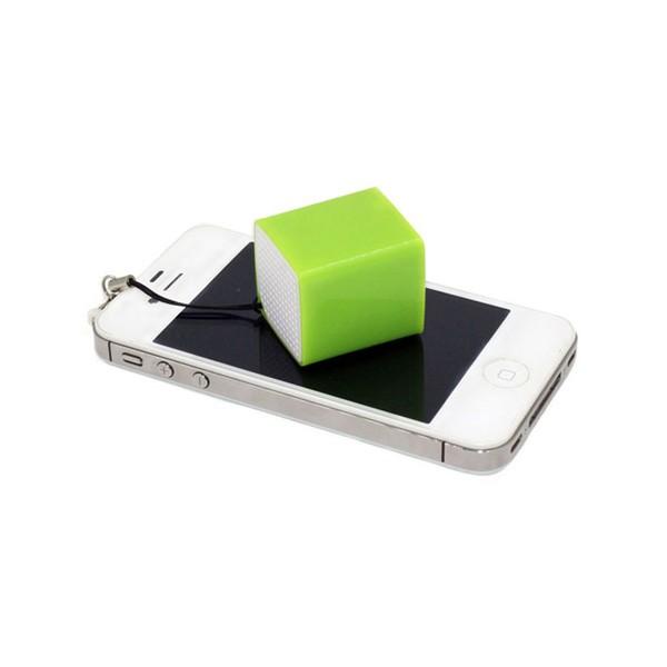 Mini Altavoz Bluetooth Portatil CoolBox Cube Mini Amarillo