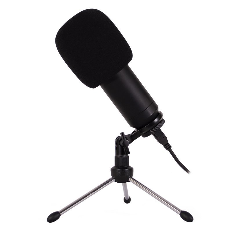 Microfono Condesador Podcasting CoolBox CoolCaster