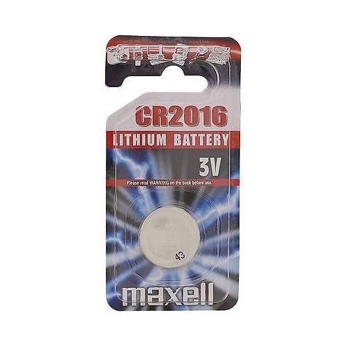 CR2016 3V Pila de Boton de Litio Maxell 1 uds