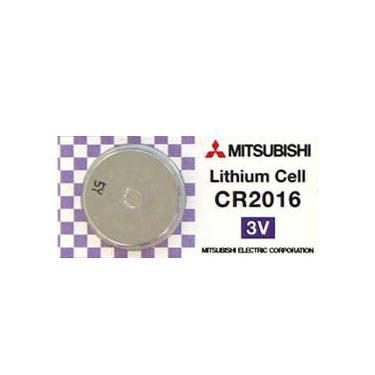 CR2016 3V Pila de Boton de Litio Mitsubishi 1 uds