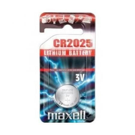 CR2025 3V Pila de Boton de Litio Maxell 1 uds