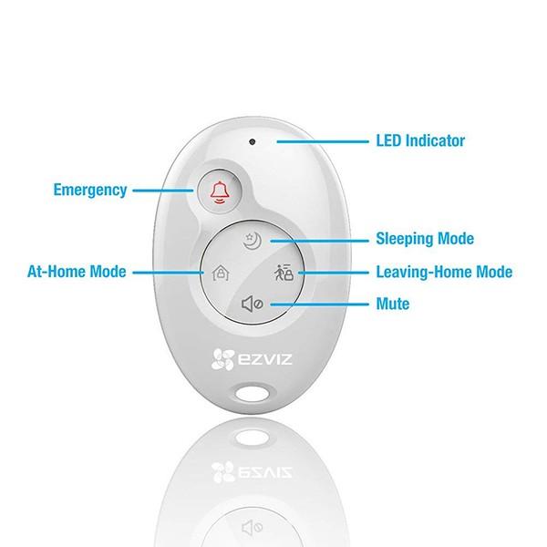Sistema de Alarma EZVIZ CS-A1-32W ezAlert Kit A1+K2