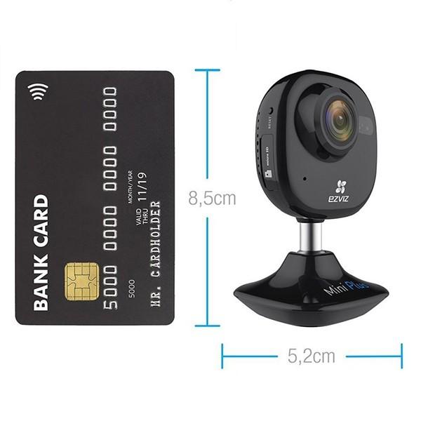 Cámara IP 1080p EZVIZ Mini Plus Indoor Negra