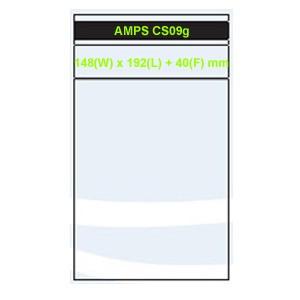 Funda Caja DVD 7mm c/ Cierre Autoadhesivo AMPS 200uds