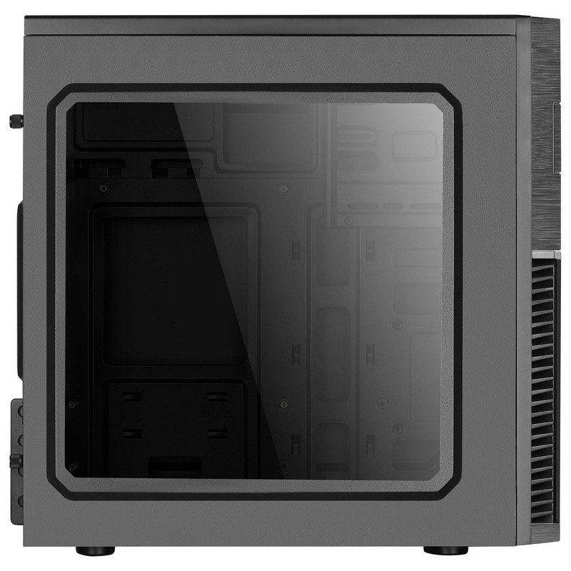 Caja PC Semitorre ATX AeroCool CS-105 Negra/Azul