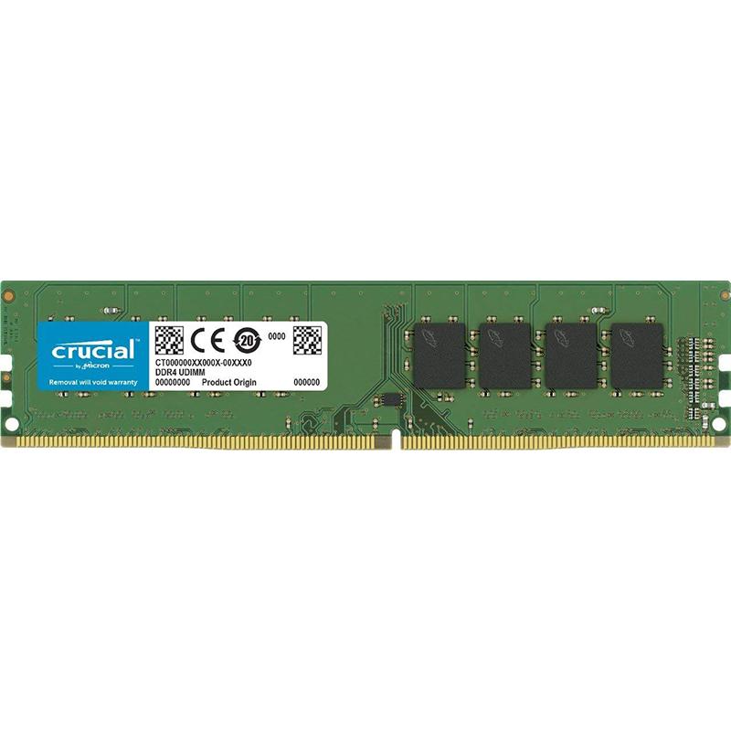 MEMORIA DDR4 16GB PC4-21300 2666MHZ CRUCIAL CL19 1.2V CT16G4DFD8266