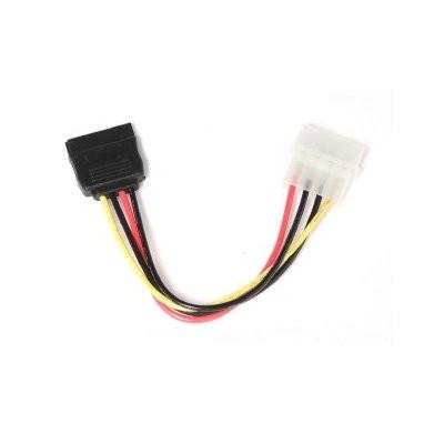 Cable Alimentacion SATA, Molex (4-pin) Genérico 10cm