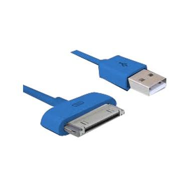 cable-de-carga-phoenix-para-iphone-4-ipod-ipad-3mtrs-azul