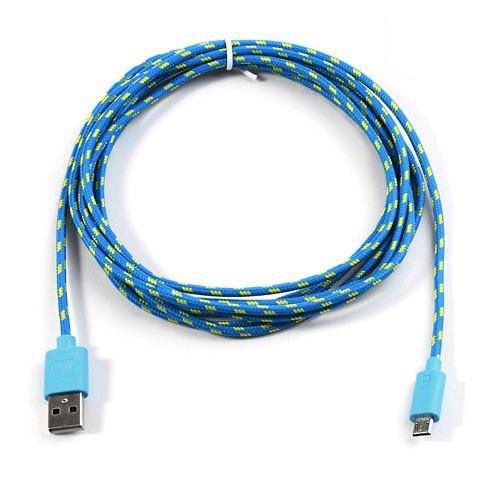 cable-cargador-usb-a-microusb-de-nylom-azul-3mtrs