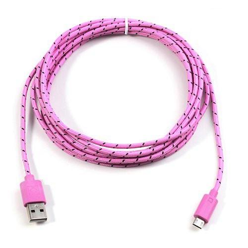 cable-cargador-usb-a-microusb-de-nylom-rosa-3mtrs