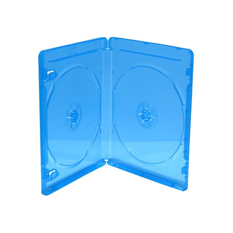 caja-bluray-doble-11mm-mediarange-50-uds