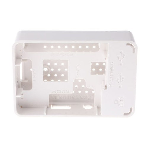 Caja Oficial para Raspberry Pi 3 Model B Blanco (9084212)