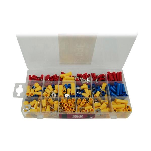 Caja con 360 Terminales Bricostar