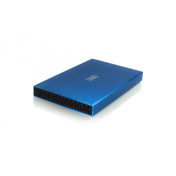 Caja Externa 3GO HDD25BL USB para HDD 2.5