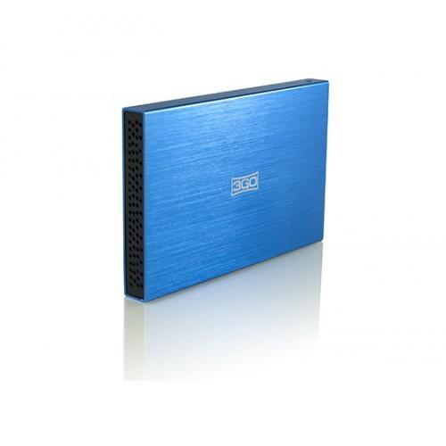 Caja Externa 3GO HDD25BL USB para HDD 2.5\