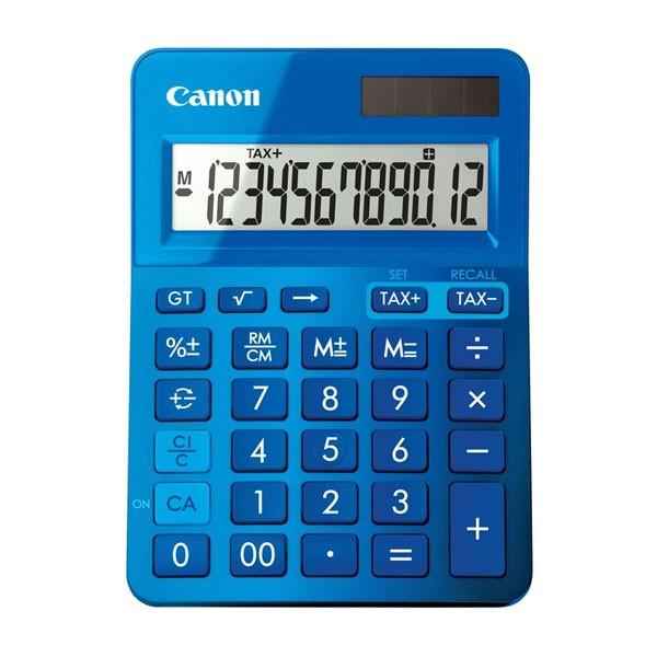 Calculadora de Sobremesa Canon LS-123K Azul