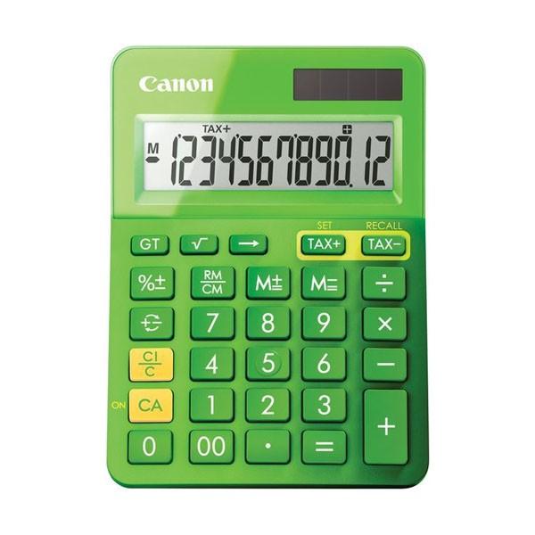 Calculadora de Sobremesa Canon LS-123K Verde