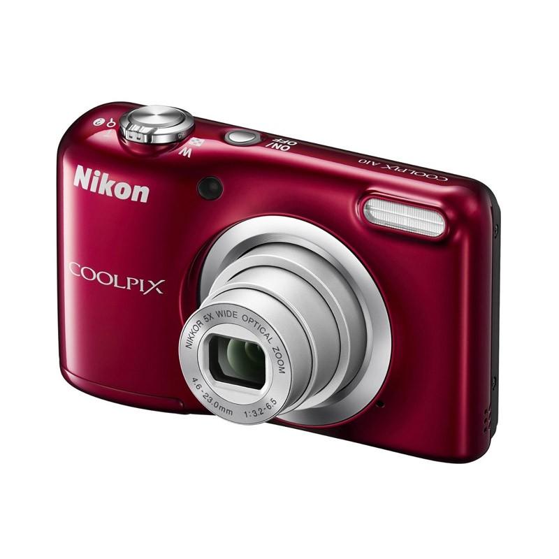 Cámara Digital Nikon Coolpix A10 Rojo