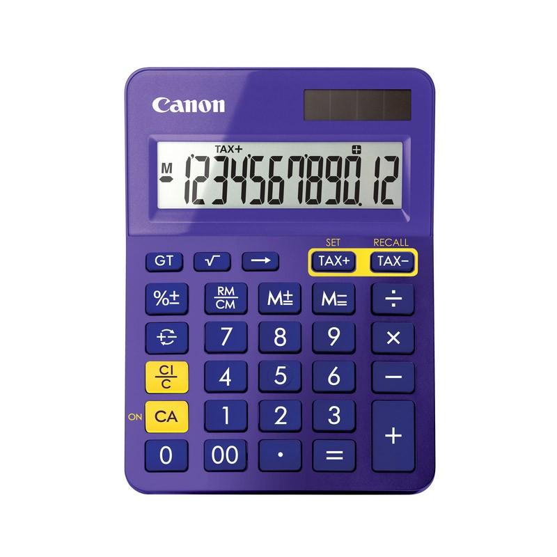 Calculadora de Sobremesa Canon LS-123K Morado