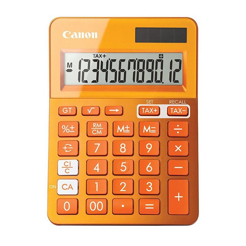 Calculadora de Sobremesa Canon LS-123K Naranja
