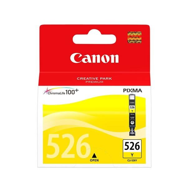 Canon CLI-526Y Cartucho de Tinta Original Amarillo